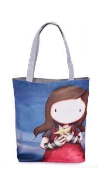 Elegantní kabelka/taška textilní star girl