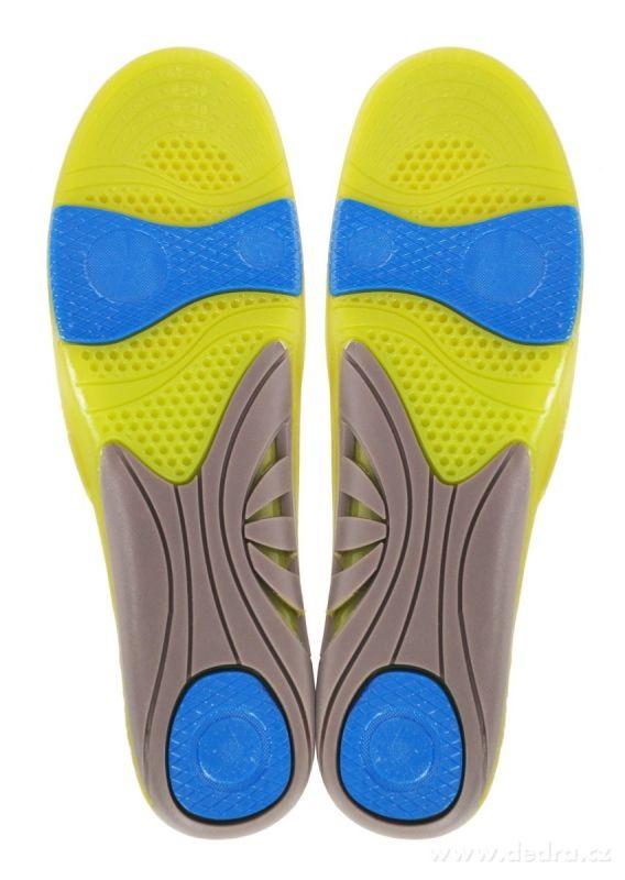Gelové vložky do bot