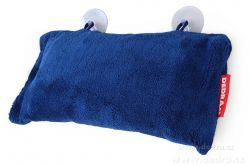 Podhlavník - polštář do vany modrý 37 x 20 x 15 cm