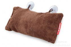 DEDRA Podhlavník - polštář do vany hnědý