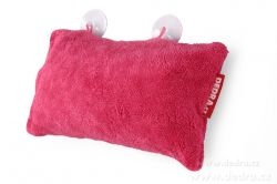 DEDRA Podhlavník - polštář do vany fuchsiový