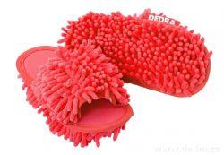 Úklidové botky Sasanka, červené vel. 33-37