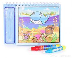 ANIMALS kouzelná vodní knížka kreslící - vodní svět