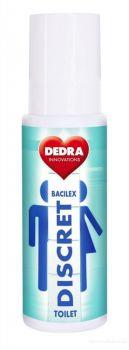 Čistič toaletních WC sedátek TOILET DISCRET BACILEX spray 100 ml