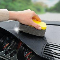 Impregnovaná houba na čištění interiéru automobilu