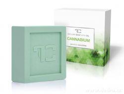 Rostlinné krémové mýdlo CANNABIUM s konopným olejem 90 g