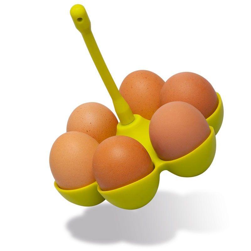 Silikonový košík na vaření vajec