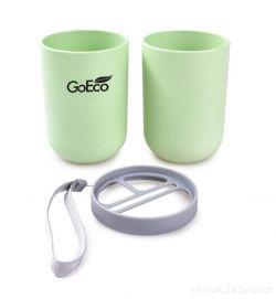 DEDRA - Cestovní pouzdro GoEco na zubní kartáčky a pastu