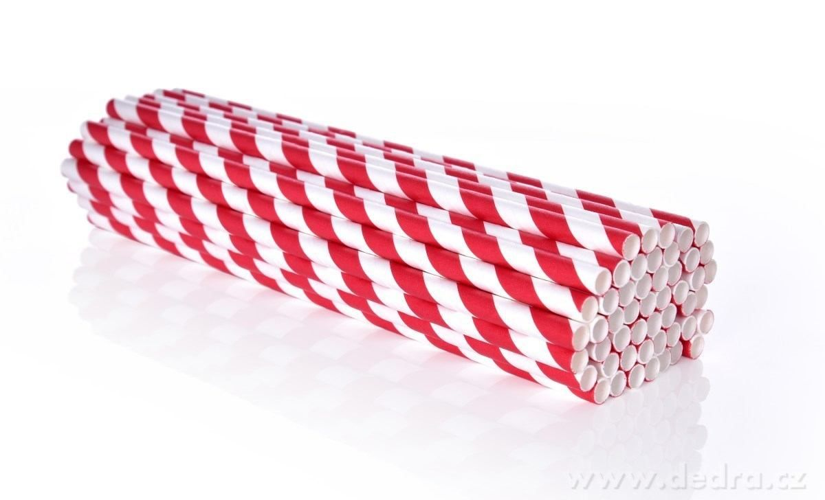 DEDRA - papírová brčka