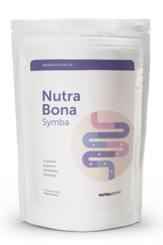 NUTRABONA SYMBA s β glukany vanilka 200g