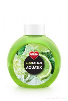Koncentrát na ruční mytí nádobí ALOEBALSAM AQUATIX - limetka 500 ml bez pumpičky