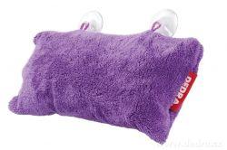 DEDRA Podhlavník - polštář do vany fialový