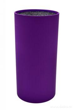 Tyčinkový stojan na nože CARBONIT fialový