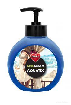 Koncentrát na ruční mytí nádobí ALOEBALSAM AQUATIX - paradise 500 ml s pumpičkou