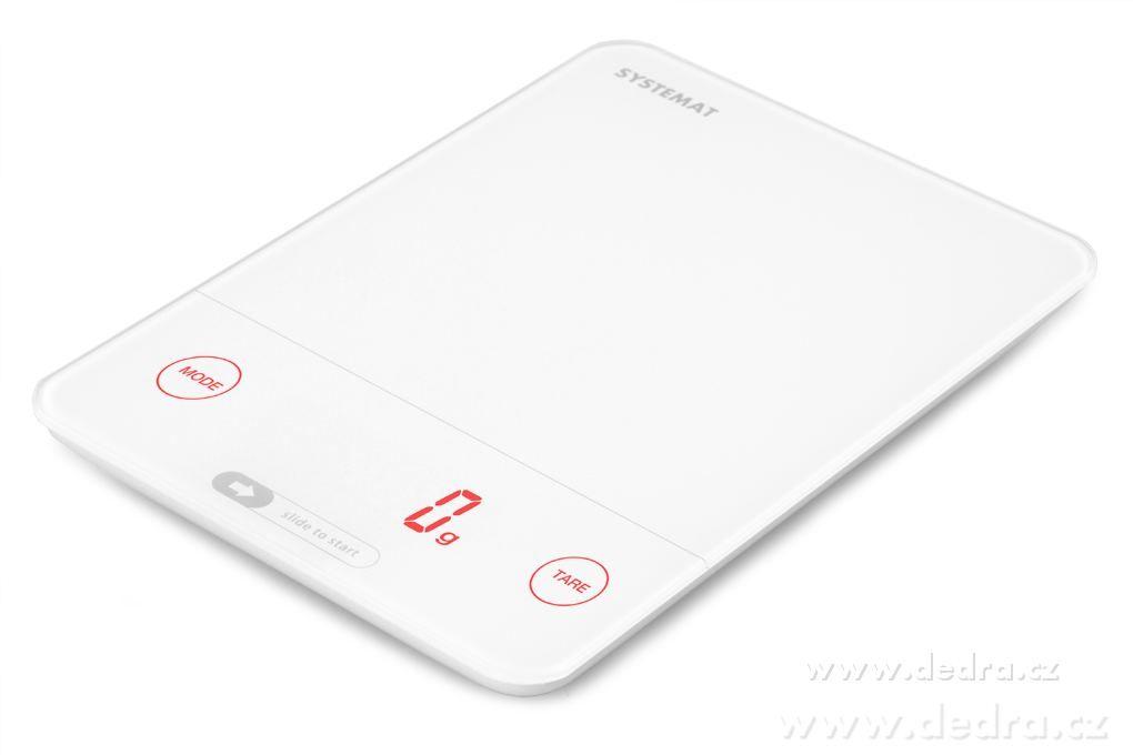 Kuchyňská digitální váha SYSTEMAT s dotykovým displejem