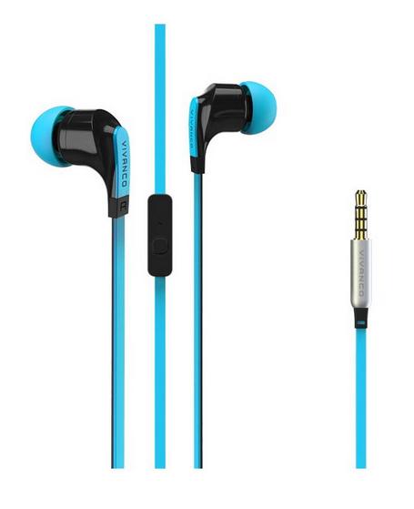 Stereo sluchátka do uší Vivanco FUSION 2 Talk 4 - modré