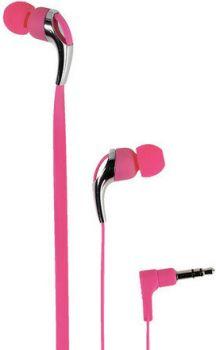 Sluchátka Vivanco Neon Buds růžové