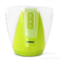 SYSTEMAT digitální váha s odměrnou nádobou 1800ml zelená