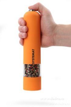 Dedra Elektrický mlýnek XXLSYSTEMAT, oranžový