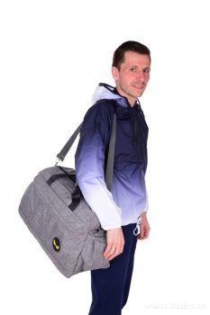 Dedra SPORT & WEEKENDER sportovní taška šedá, REBELITO