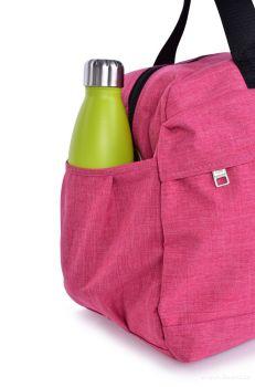 Dedra Sportovní taška z textilie, růžová