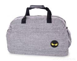 Dedra SPORT & WEEKENDER sportovní taška, šedá