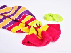 Dedra 10 ks silikonových prstýnků na ponožky