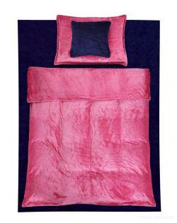 ROYAL LAGOON VELVET ložní souprava 2-dílná, sakura růžová