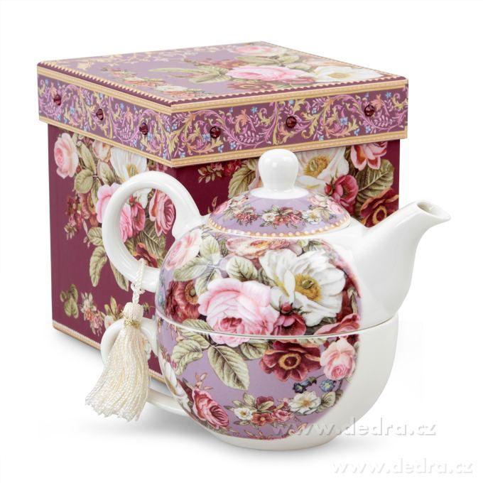 Dedra Dárková sada čaj pro jednoho v dárkovém boxu