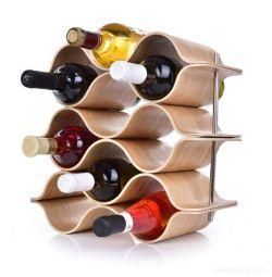 Vinotéka/stojan na víno pro 9 lahví