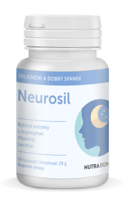NEUROSIL® 50tbl - dokonalá kombinace účinných látek s využitím synergických efektů NUTRA-BONA