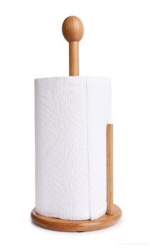 UTĚRKODRŽÁK BAMBOO, bambusový stojan na papírové utěrky GoEco®