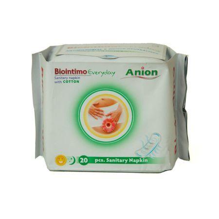 Anion BioIntimo dámské hygienické vložky - intimky 20ks BioIntimo Corporation - Denticare-Gate Kft -.