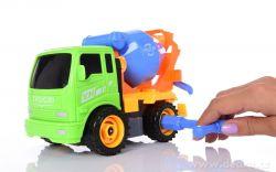 CREATIV TRUCK, nákladní auto se sadou nářadí, míchačka