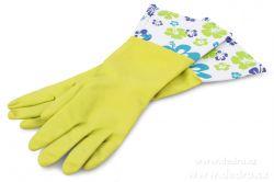 Dedra FLOWER dlouhé úklidové rukavice