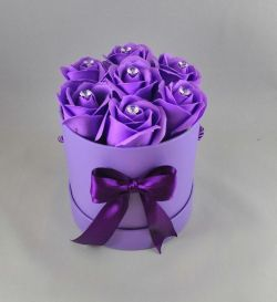 FLOWER BOX Purple lila