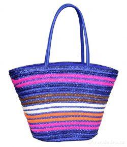 DEDRA MADISON stylová kabelka na zip, modrá