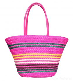 DEDRA MADISON stylová kabelka na zip, růžová