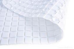 DEDRA Protiskluzová podložka do vany a sprchy, bílá s přísavkami