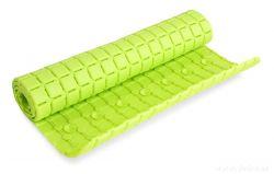 DEDRA Protiskluzová podložka do vany a sprchy, jasně zelená