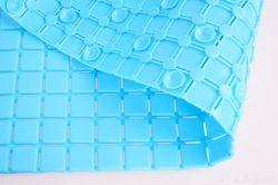 DEDRA Protiskluzová podložka do vany a sprchy, tyrkysově modrá