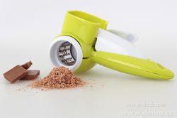 DEDRA Ruční rotační struhadlo MULTISTRUHADLO, na parmezán, sýry, čokoládu