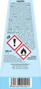 BACILEX hygienický čistič hladkých povrchů s vysokým obsahem alkoholu (70%) 500ml, polar breeze