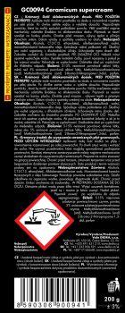 CERAMICUM 2v1 čistič a leštidlo na sklokeramické a indukční desky s mikrogranulemi