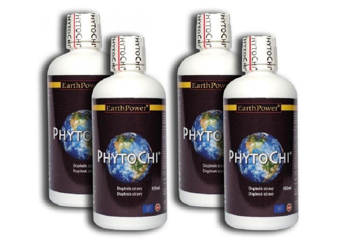 PhytoChi™ 4x500ml, bylinné harmonizační tonikum vyrobené ze 16ti bylin podle tradiční čínské medicíny Earth Power International, sp.z o.o.