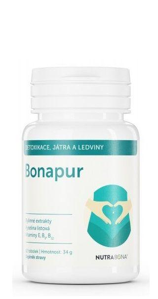 BONAPUR 62 tobolek pro vnitřní očista těla, k normální hladině cukru v krvi NUTRA - BONA