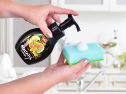 ECO pěna AQUATIX koncentrát na ruční mytí nádobí 300ml meloun