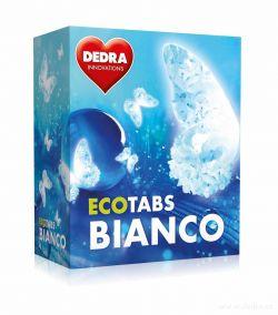 ECOTABS BIANCO koncentrované tablety na bílé prádlo 60ks
