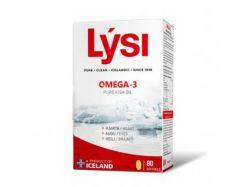 Rybí olej Lýsi - Omega-3 rybí tuk 80 kapslí