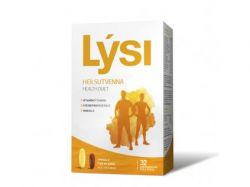Rybí olej Lýsi - Omega-3 s multivitaminem 32 kapslí Omega-3 a 32 kapslí multivitaminu  doplněk stravy vhodný pro každodenní užívání ideální pro zvýšení vitality, lepší zotavení a sportovních aktivity